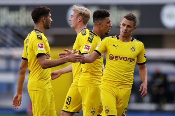 Dortmund, Paderborn deplasmanında farka koştu: 6-1