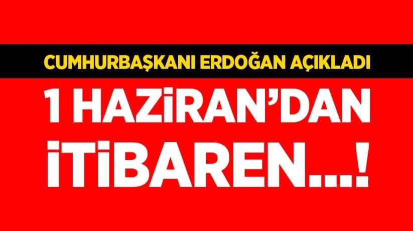 Cumhurbaşkanı Erdoğan yeni normalleşmenin detaylarını açıkladı