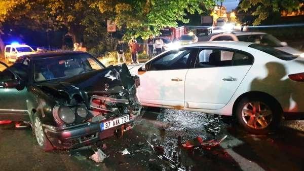 Alkollü sürücü kazaya yol açtı: 1 yaralı