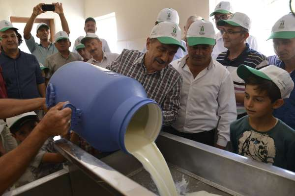Başkan Ataç süt üretiminin önemine dikkat çekti