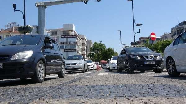 Çanakkalede trafiğe kayıtlı araç sayısı 242 bin oldu
