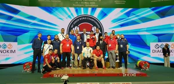 Dünya Gençler Halter Şampiyonasında milli sporcular 18 madalya kazandı