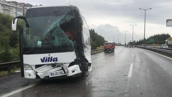 Feci kaza sebebiyle kapanan TEMin Ankara istikameti trafiğe açıldı