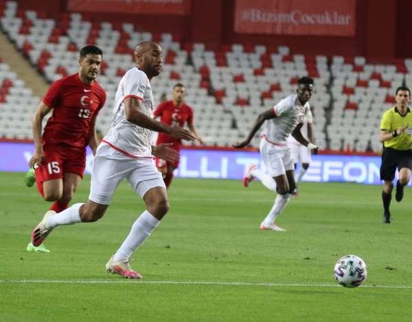 Hazırlık maçı: Türkiye: 0 - Gine: 0