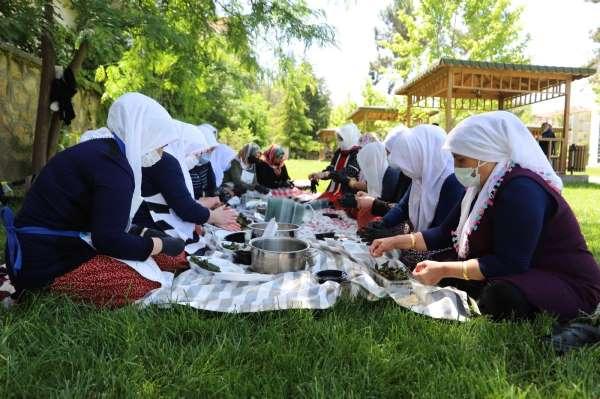 Kiraz yaprağı sarmasının satışı Türkiyenin dört bir yanına yapılacak