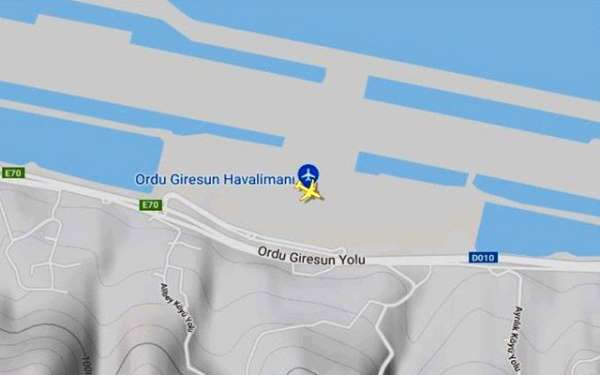 Ordu-Giresun Havalimanında bir uçağa bomba ihbarı yapıldı. İhbar üzerine olay yerine polis ve bomba imha uzma