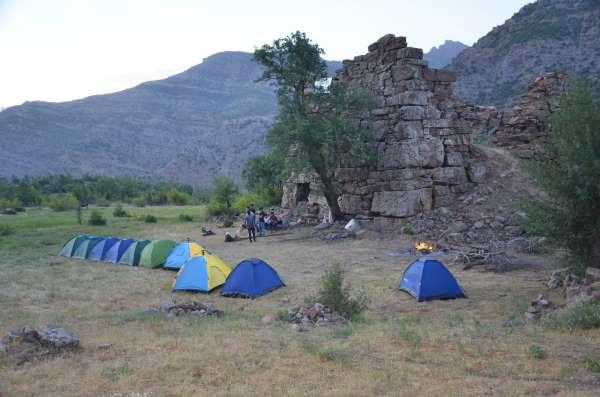 Şırnak huzurun başkenti oldu, sporcular hiç gidilmeyen dağlarda kamp kurdu