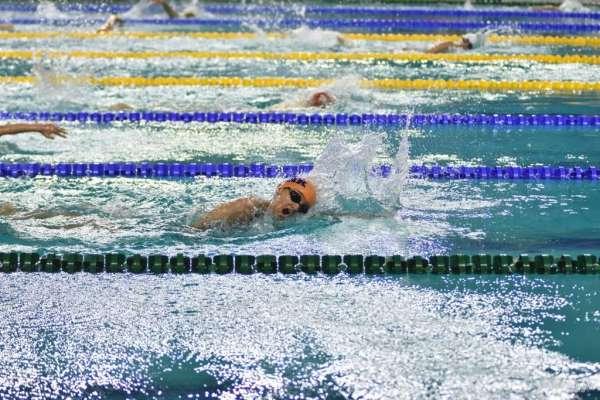 Yüzme yarışları tamamlandı