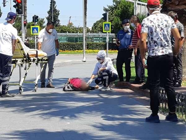 Alkol komasına giren şahıs hastaneye kaldırıldı