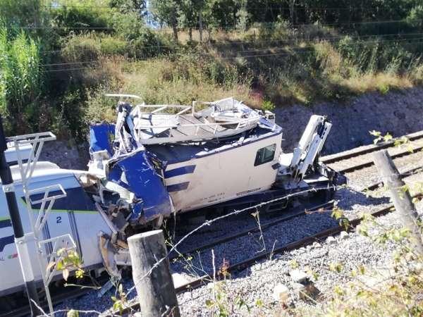 Portekiz'de hızlı tren kazası: 1 ölü, 50 yaralı