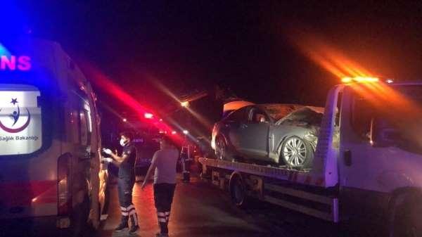 Bursanın Gemlik ilçesinde yaşanan kazada ölü sayısı 2 oldu