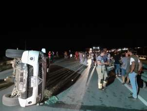 Kuşadası - Selçuk karayolunda trafik kazası: 9 yaralı