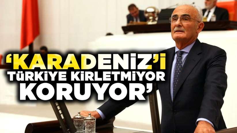 Karadenizi Türkiye kirletmiyor koruyor