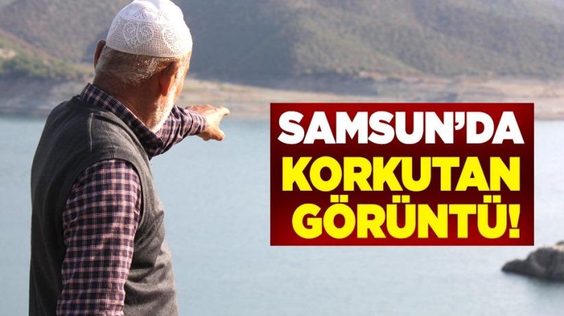 Samsun'da korkutan görüntü!