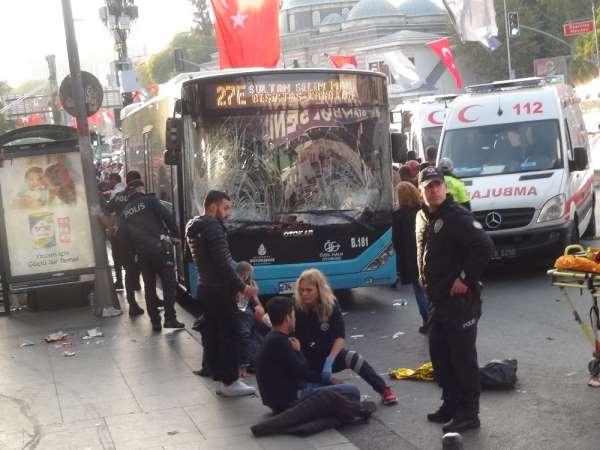 Beşiktaş'taki otobüs kazasında yaralanan bir kişi hastanede hayatını kaybetti