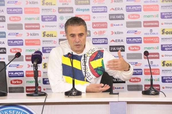 Ersun Yanal: 'Ligi bitirdiğimizde, herkesi arkamızda göreceğimizi düşünüyorum'