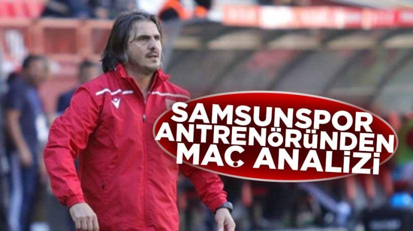 Samsunspor Antrenörü Recep Sermet Boyar'da açıklama