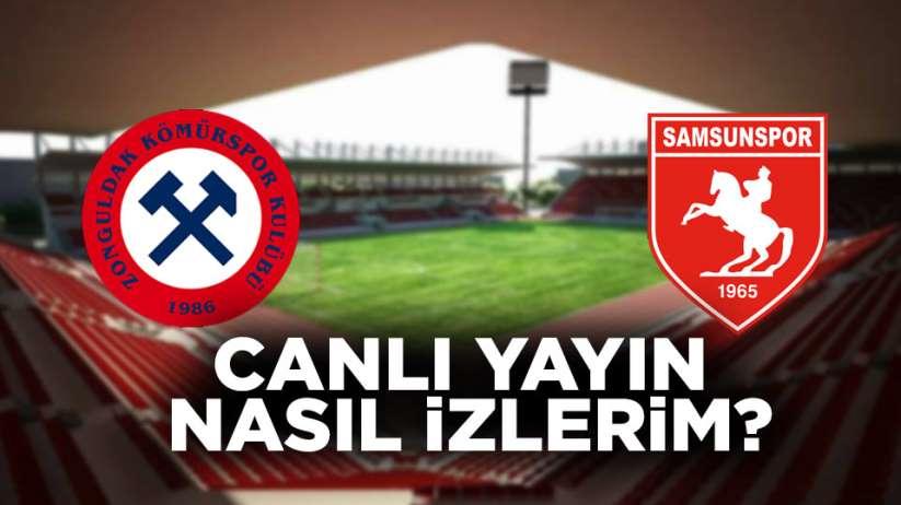 Samsunspor Zonguldak Kömürspor maçı canlı yayın nasıl izlerim?