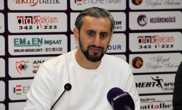 Serkan Özbalta: 'Çok yakın mesafeden kaçırdığımız 5-6 net pozisyonumuz var'