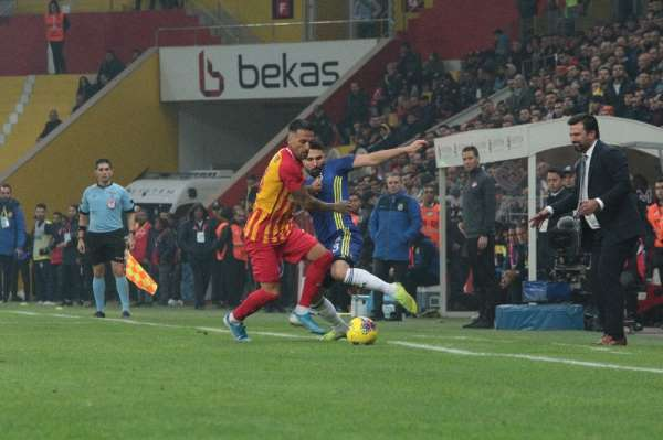 Süper Lig: İ.M. Kayserispor: 1 - Fenerbahçe: 0 (Maç sonucu)