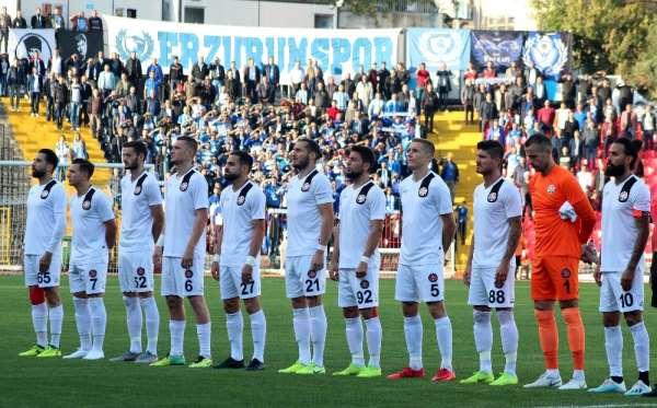 TFF 1. Lig: Fatih Karagümrük: 0 - Büyükşehir Belediye Erzurumspor: 1