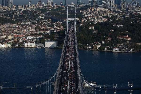 Vodafone 41. İstanbul Maratonu'nda ilk start verildi