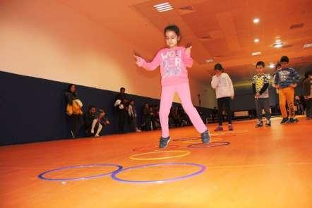 Mersin'de sportif yetenek taraması fiziksel etkinlik eğitim programı devam ediyo
