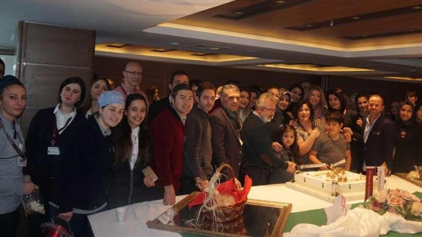 VM Medical Park Samsun Hastanesi'nden yeni yıl kutlaması