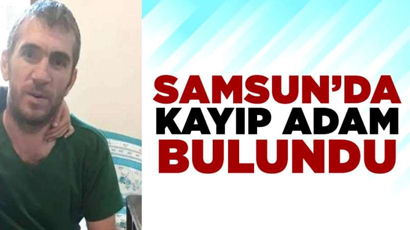 Samsun'da kayıp olarak aranan Gökhan Koçali bulundu