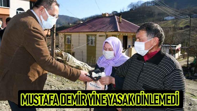 Başkan Demir Samsundaki yasakları yine deldi