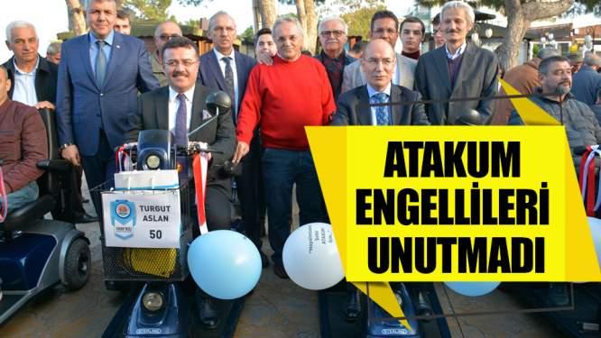 Samsun Haberleri: Atakum Belediyesi Engellileri Unutmadı