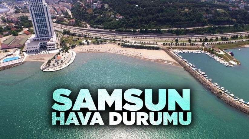 8 Aralık Pazar Samsun ve ilçeleri hava durumu, Samsun'da bugün hava nasıl?
