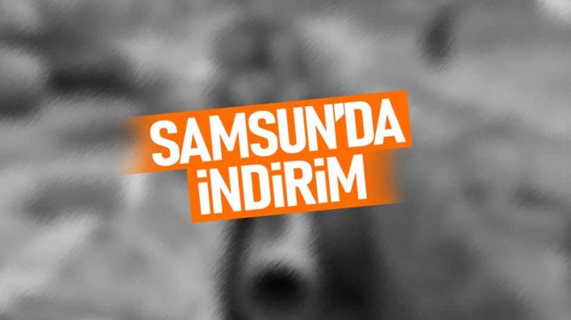 Samsun'da indirim