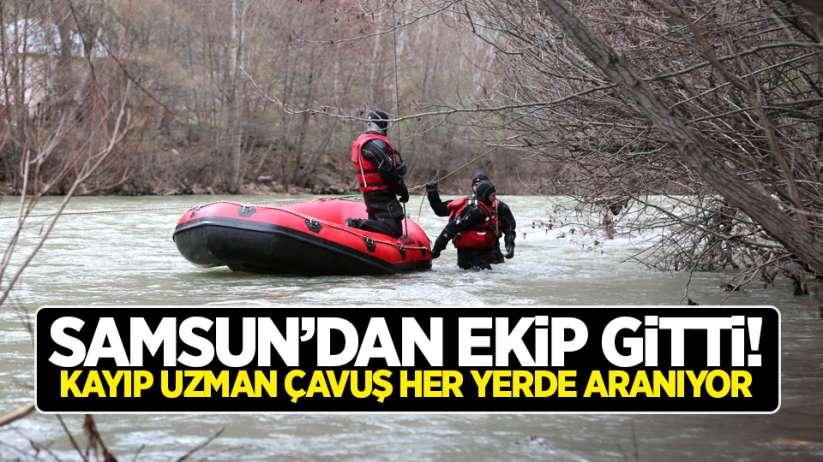 Samsun'dan ekip gitti! Kayıp uzman çavuş her yerde aranıyor