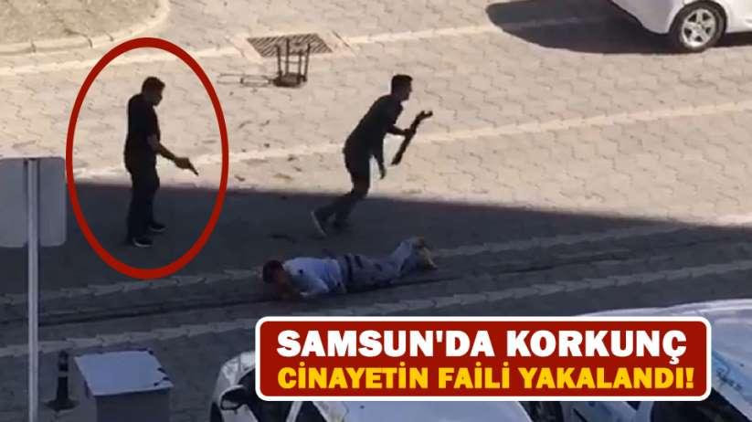 Samsunda korkunç cinayetin faili yakalandı!