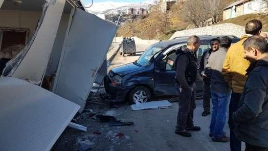 Tunceli'de trafik kazası: 3 yaralı
