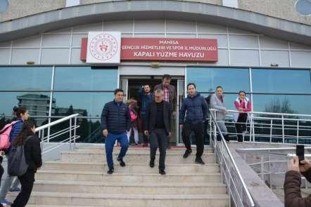 Vali Deniz, Atatürk Spor Kompleksini inceledi