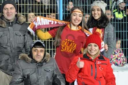 Spor Toto Süper Lig: BB Erzurumspor: 1 - Galatasaray: 0 (İlk yarı)