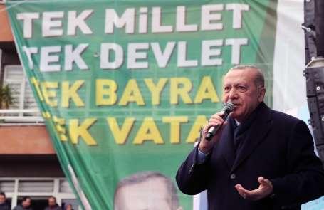 Cumhurbaşkanı Erdoğan: '1 Mart'ta istikrarımıza, istiklalimize, istikbalimize gö