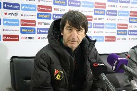 Boluspor- İstanbulspor maçının ardından