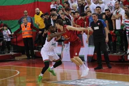 Tahincioğlu Basketbol Süper Ligi: Pınar Karşıyaka: 78 - Galatasaray Doğa Sigorta