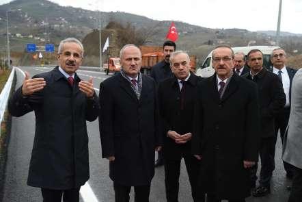 Bakan Turhan: 'Anadolu'ya bağlanan 6 tünel en kısa zamanda hizmete açılacak'