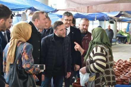 Bursa Milletvekili Ödünç: 'Tanzim satışları pazara olumlu yansıdı'