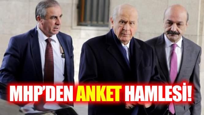 MHP'den Anket Hamlesi!