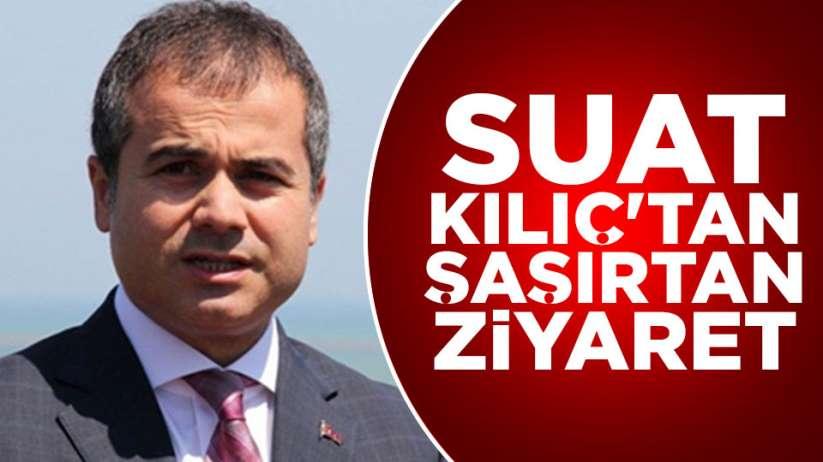 Suat Kılıç'tan AK Parti'ye ziyaret