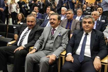 Rifat Hisarcıklıoğlu: 'Eşleştirme projeleri için AB'den 2,5 milyon euro hibe des