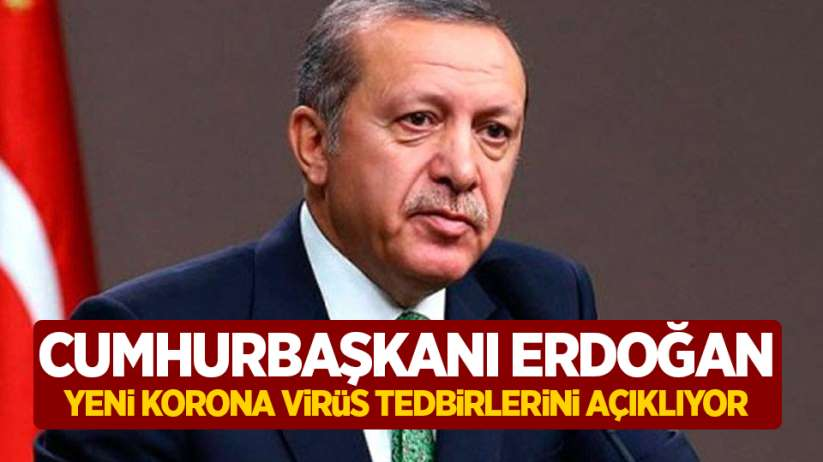 Cumhurbaşkanı Erdoğan açıklama yapıyor!