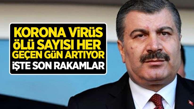 Türkiye'de korona virüs ölü sayısı her geçen gün artıyor! İşte son rakamlar