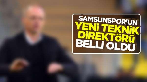 Samsunspor'un yeni teknik direktörü kim oldu?
