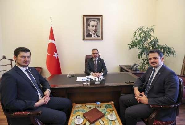 Bakan Kasapoğlu'ndan Yozgatlı gençlere ikinci müjde